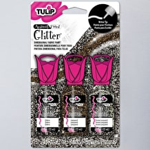 Tulip 3D Glitter Animal 22ml Assorted Colours Pack of 3