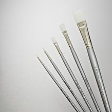 Pro Arte Sterling Acrylix Brush Long Flat Series 201