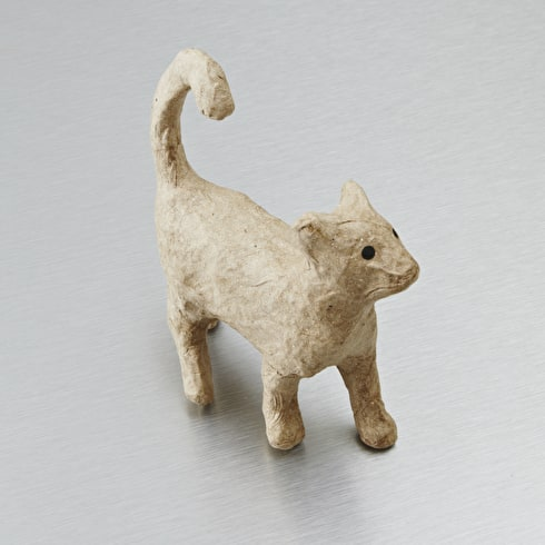 Decopatch Very Small Papier Mache Animal Walking Cat