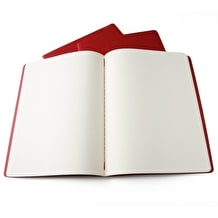 Moleskine Plain Journals Pack of 3 Red