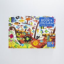 Usborne Jigsaw with a Book Under the Sea by Kirsteen Robson