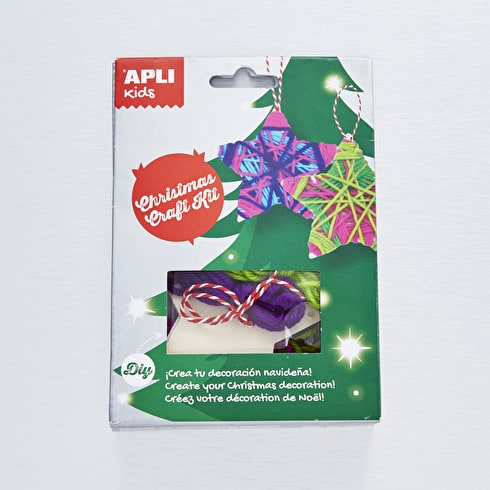 Apli Kids Christmas Craft Kit Decorate Stars
