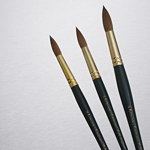 Pro Arte Renaissance Sable Brush Round Series RS | Artist Sable Brushes | Cass Art