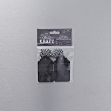 Papermania Chalkboard Tags and Twine Pack of 20