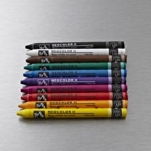 Caran D'ache Neocolor II Aquarelle Wax Pastels Tin Set of 10
