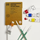 Professional Oil Painters Set with Paint, Brushes & Canvas