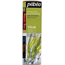 Pebeo Vitrail Discovery Pack of 6 20ml Assorted Colours