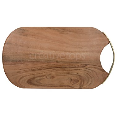 Creative Tops Naturals Oval Acacia Serving Board