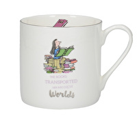 Roald Dahl Matilda Fine Bone China Can Mug With Silver Detail