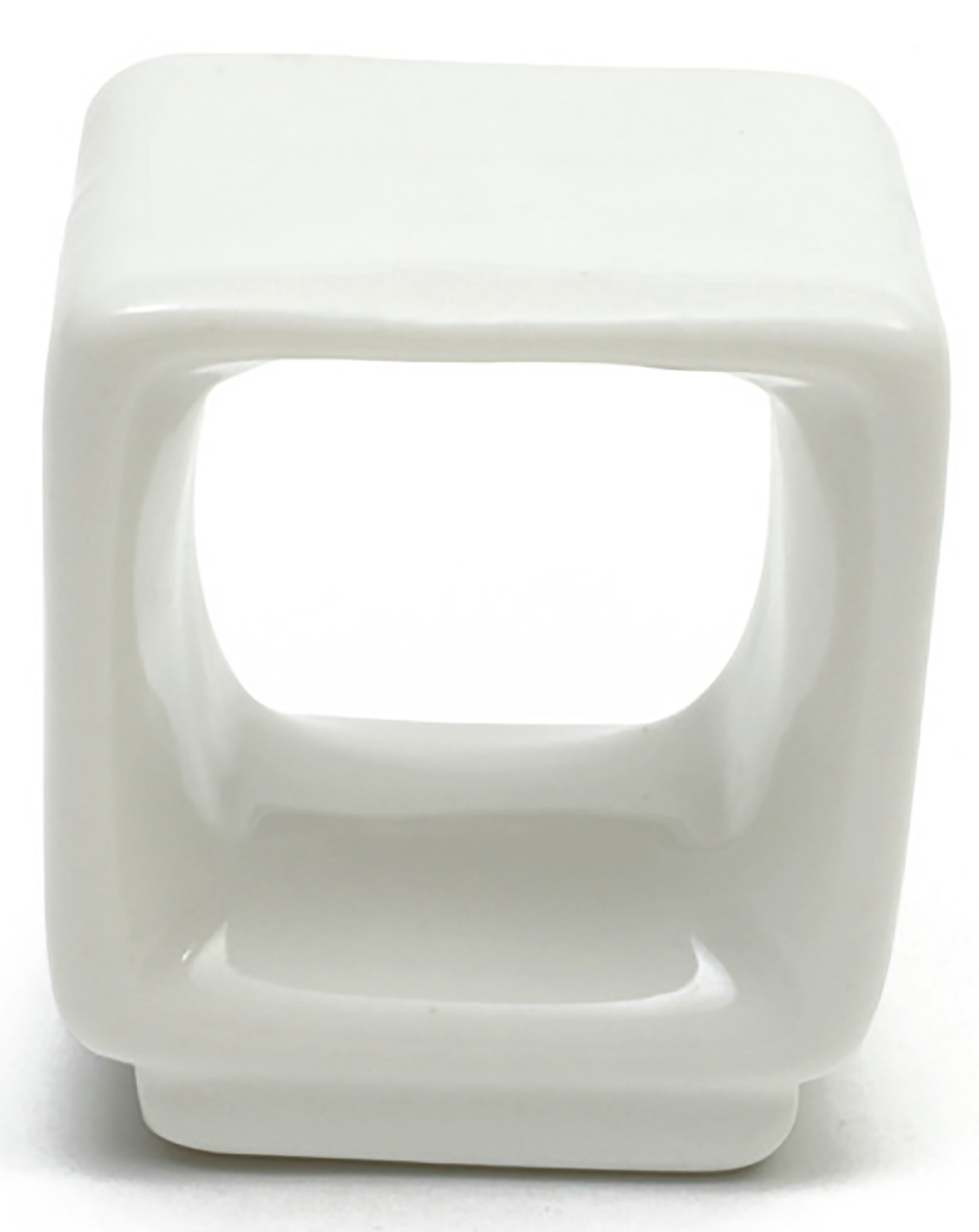 Maxwell & Williams White Basics Round Napkin Ring