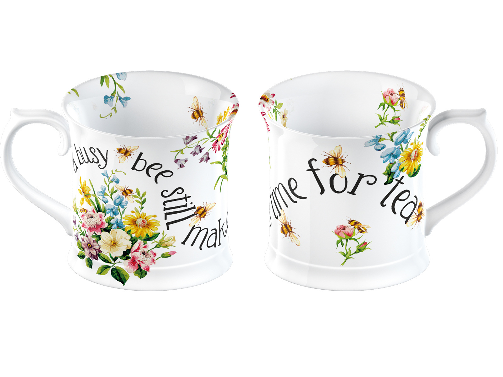 Katie Alice English Garden Busy Bees Tankard Mug