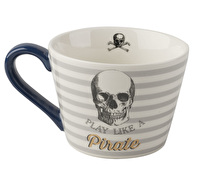 Creative Tops Captain Pirate Squat Conical Mug