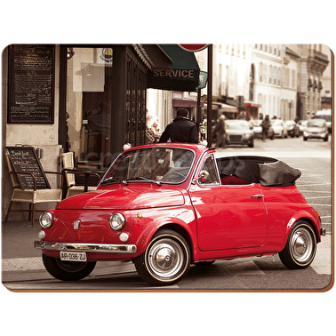 Everyday Home Retro Fiat Pack Of 4 Placemats