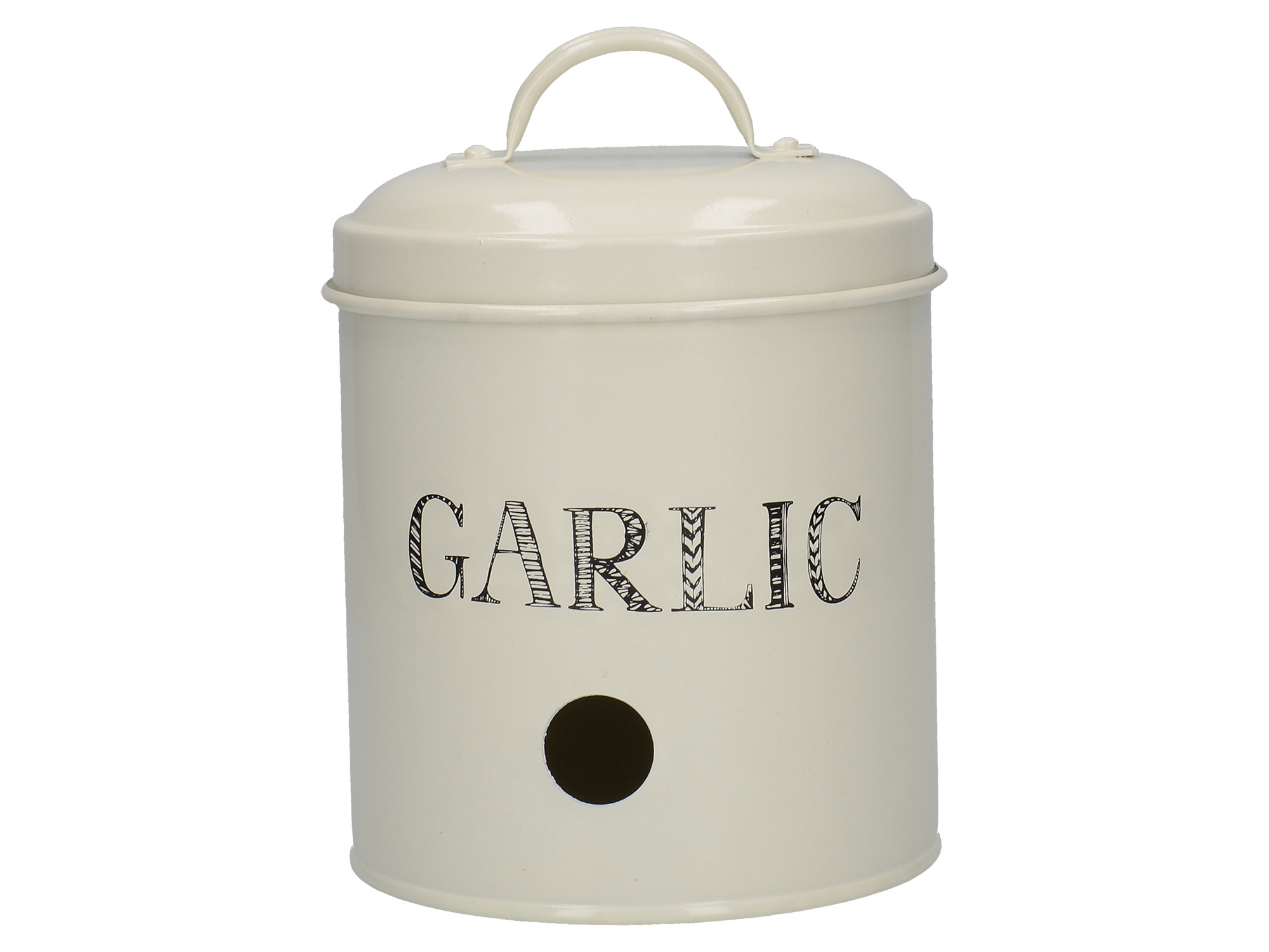 Creative Tops Stir It Up Garlic Tin White