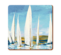 Creative Tops Sailing Boats Pack Of 6 Premium Coasters
