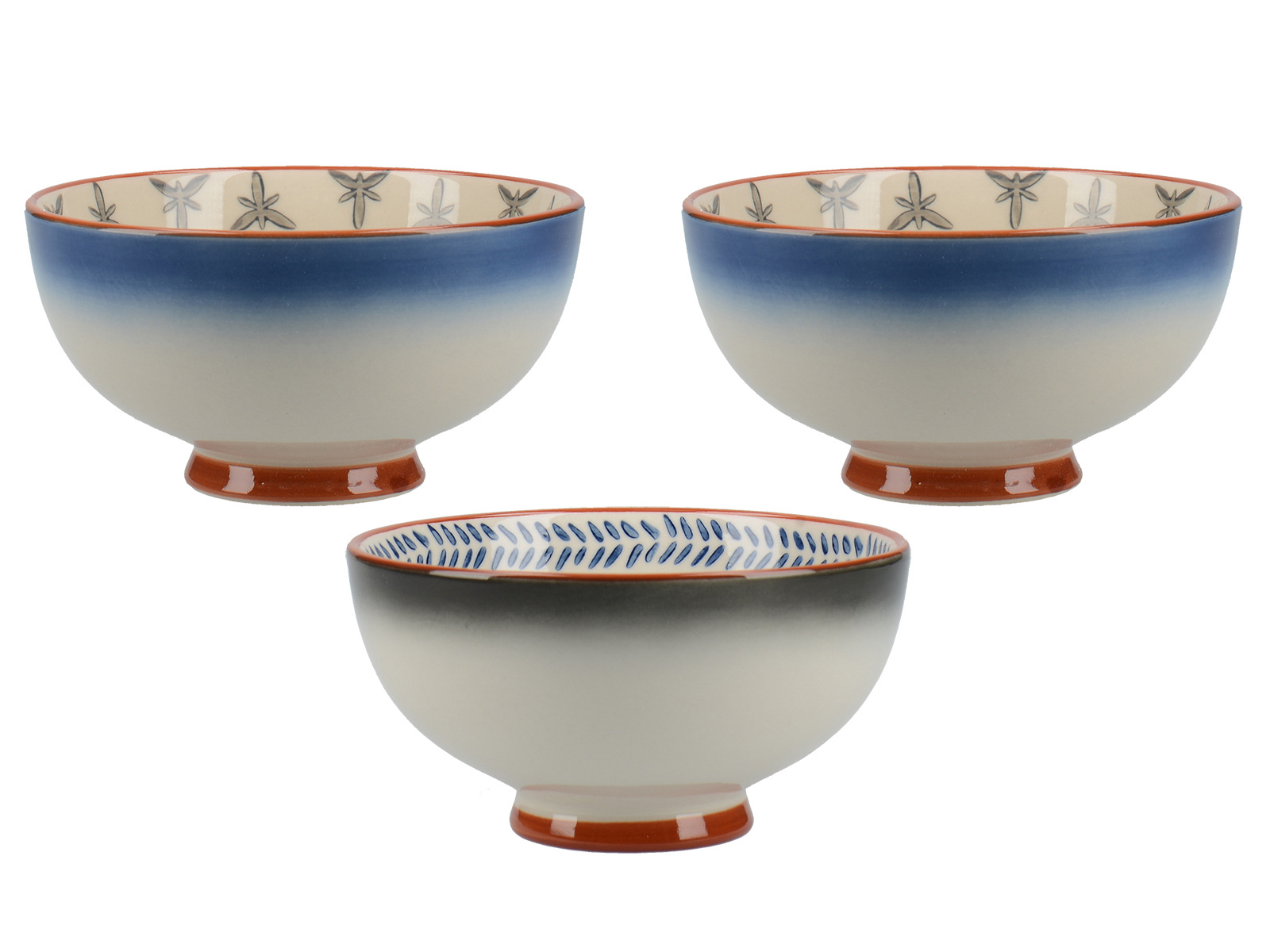 Mikasa Drift Set Of 3 Small Bowls