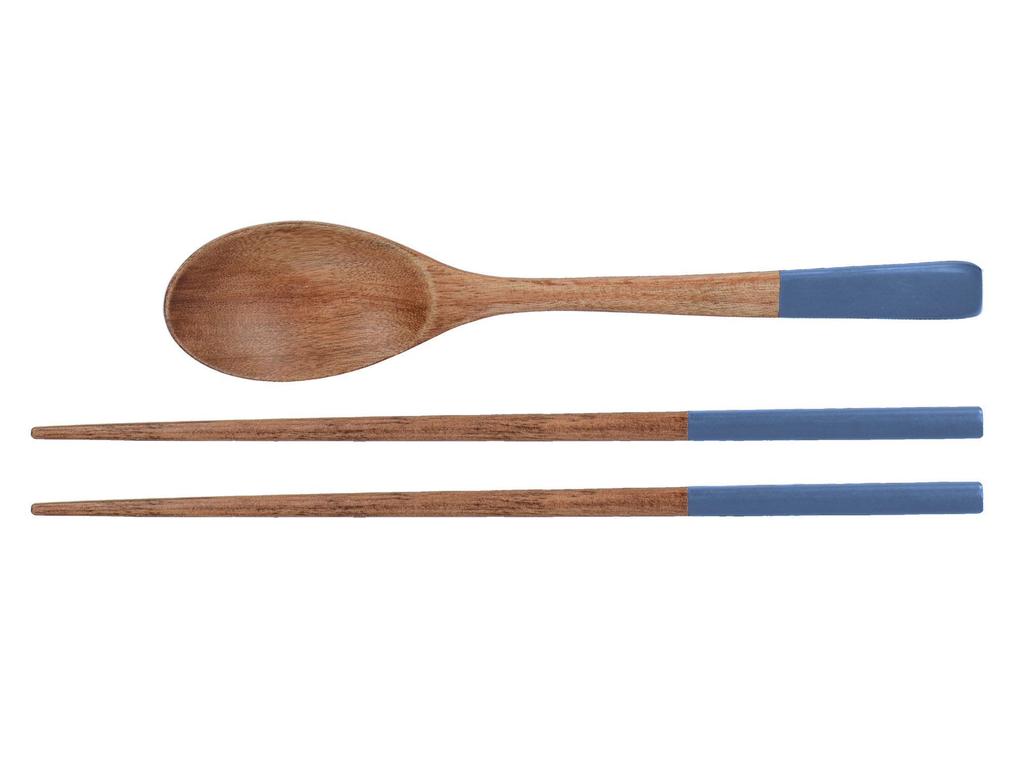 Mikasa Drift Set Of 2 Chopsticks And Spoon
