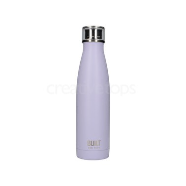 Built 17Oz Double Walled Stainless Steel Water Bottle Lavender