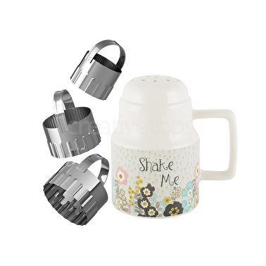 Katie Alice Pretty Retro Shaker And Cutter Set
