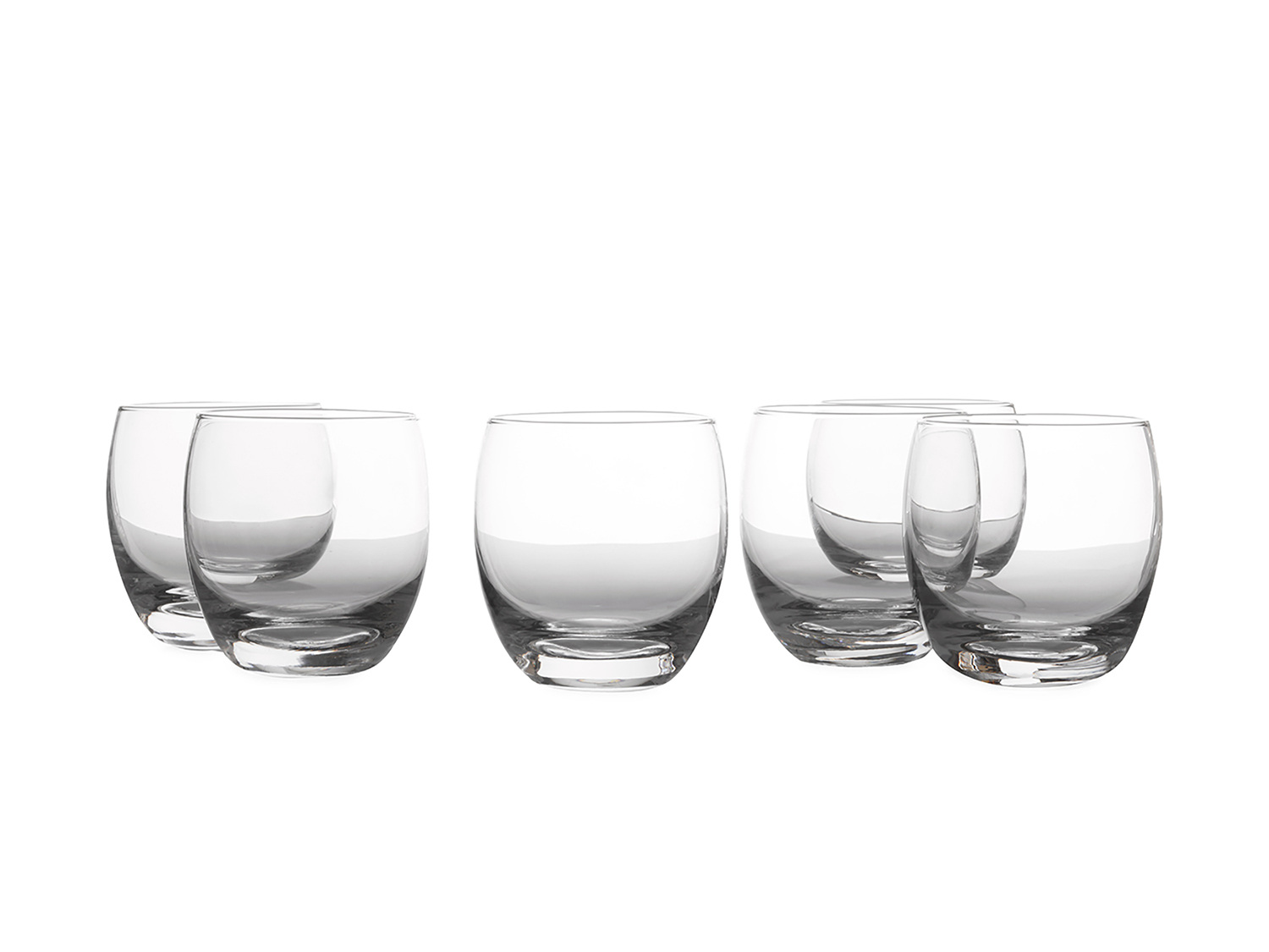 Casa Domani Set Of 6 300Ml Double Old Fashion Glasses
