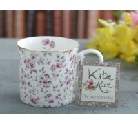 Katie Alice Ditsy Floral Palce Mug White Floral