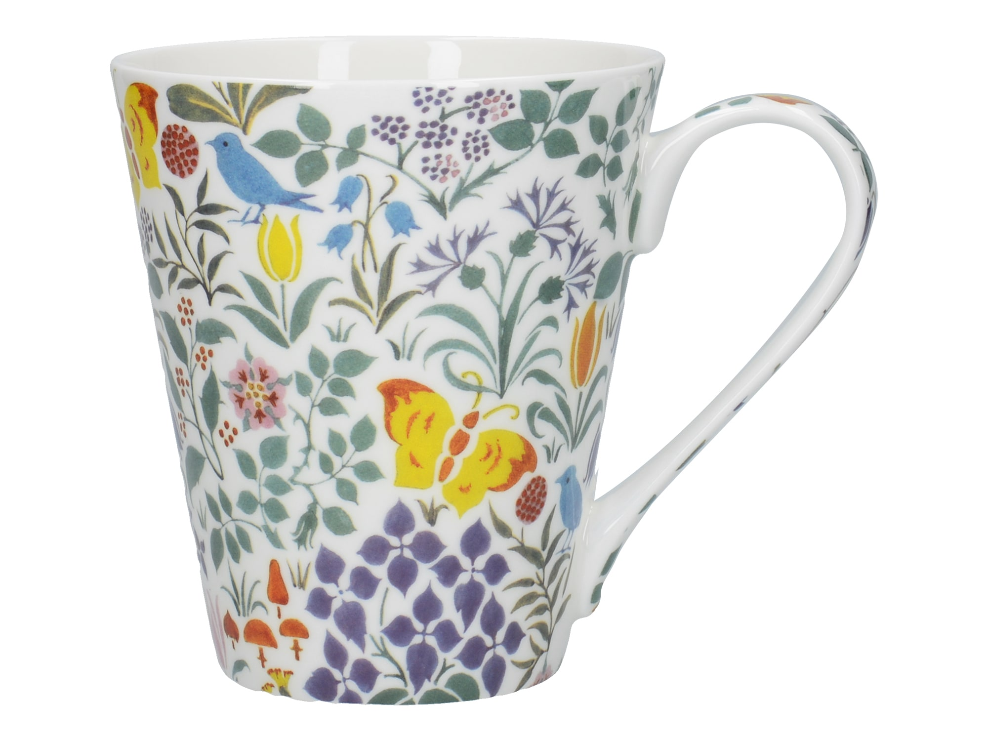 Victoria And Albert Spring Flowers Conical Mug