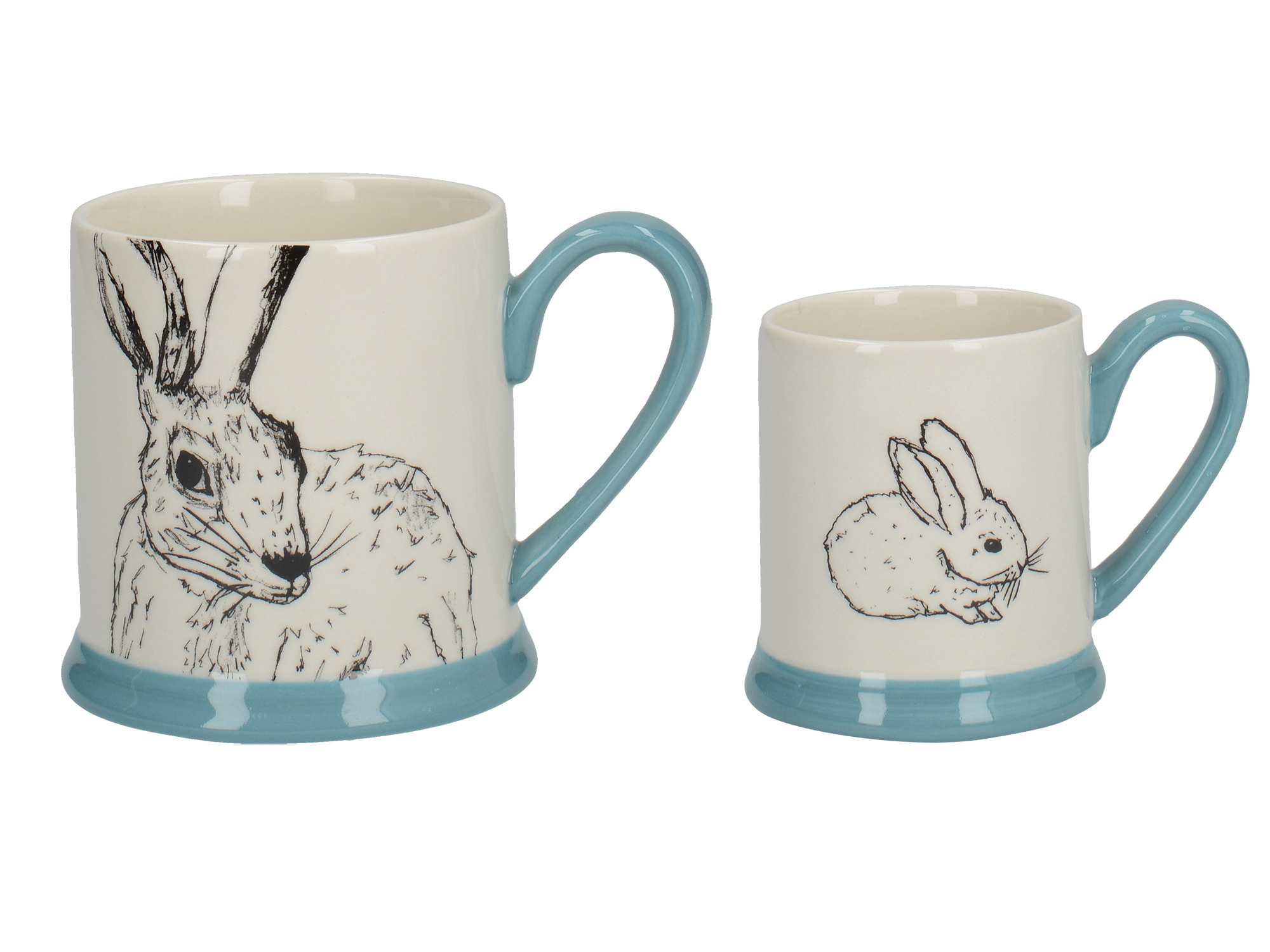 Creative Tops Into The Wild Little Explorer Bunny Set Of 2 Mugs