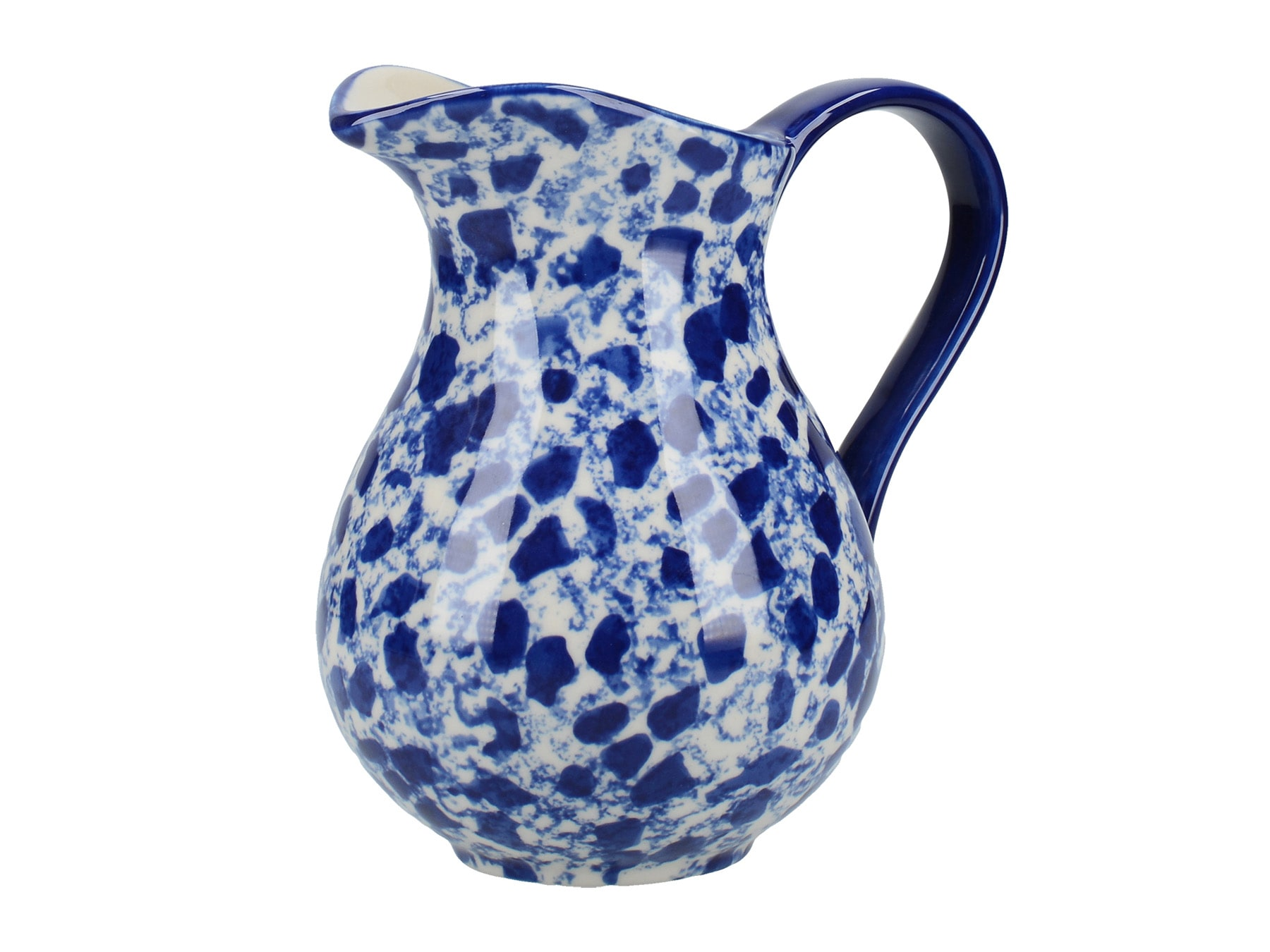 London Pottery Splash Small Jug Blue