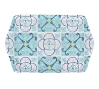 Creative Tops Green Tile Scatter Tray