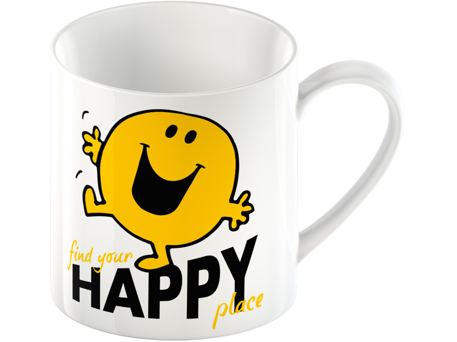 Mr Men Mr Happy Can Mug