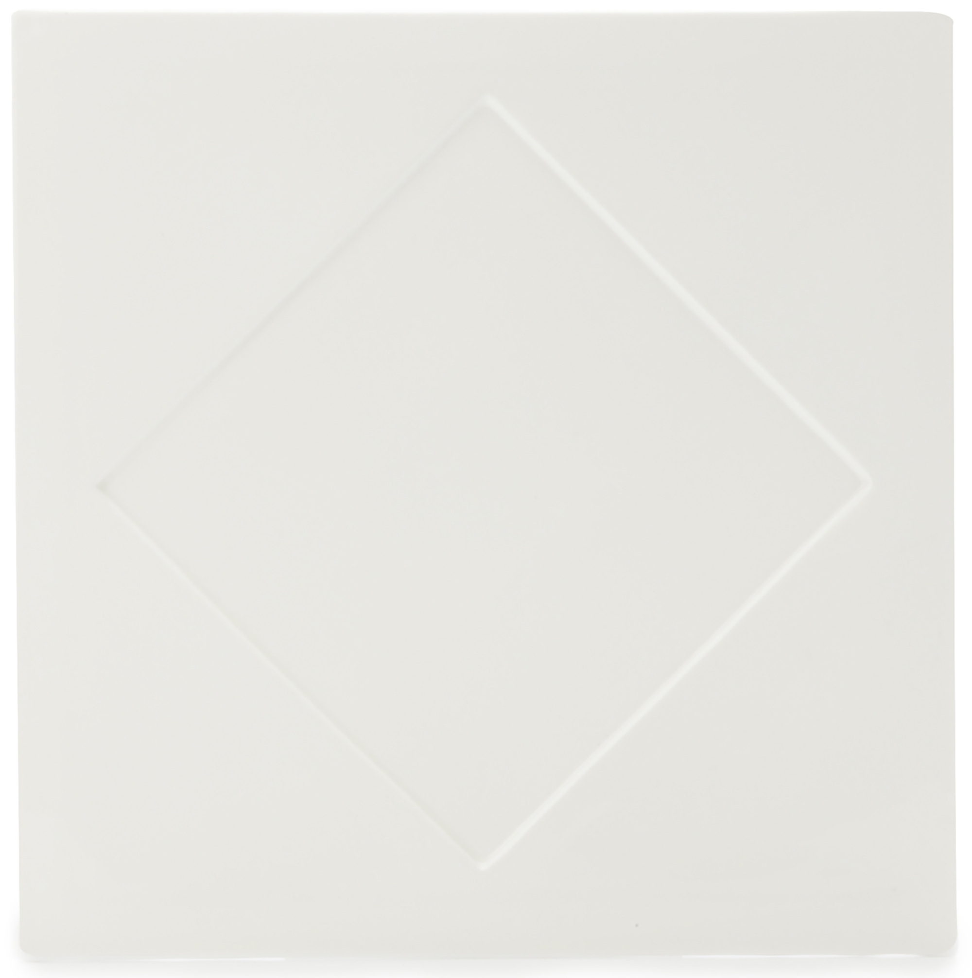 Maxwell & Williams White Basics Diamond 30.5Cm Square Plater Gift Boxed
