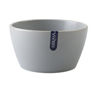 Mikasa Gourmet Basics Home Cereal Bowl Grey