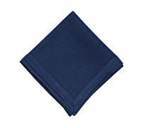 Mikasa Ciara Pack Of 2 Pleated Napkins Navy