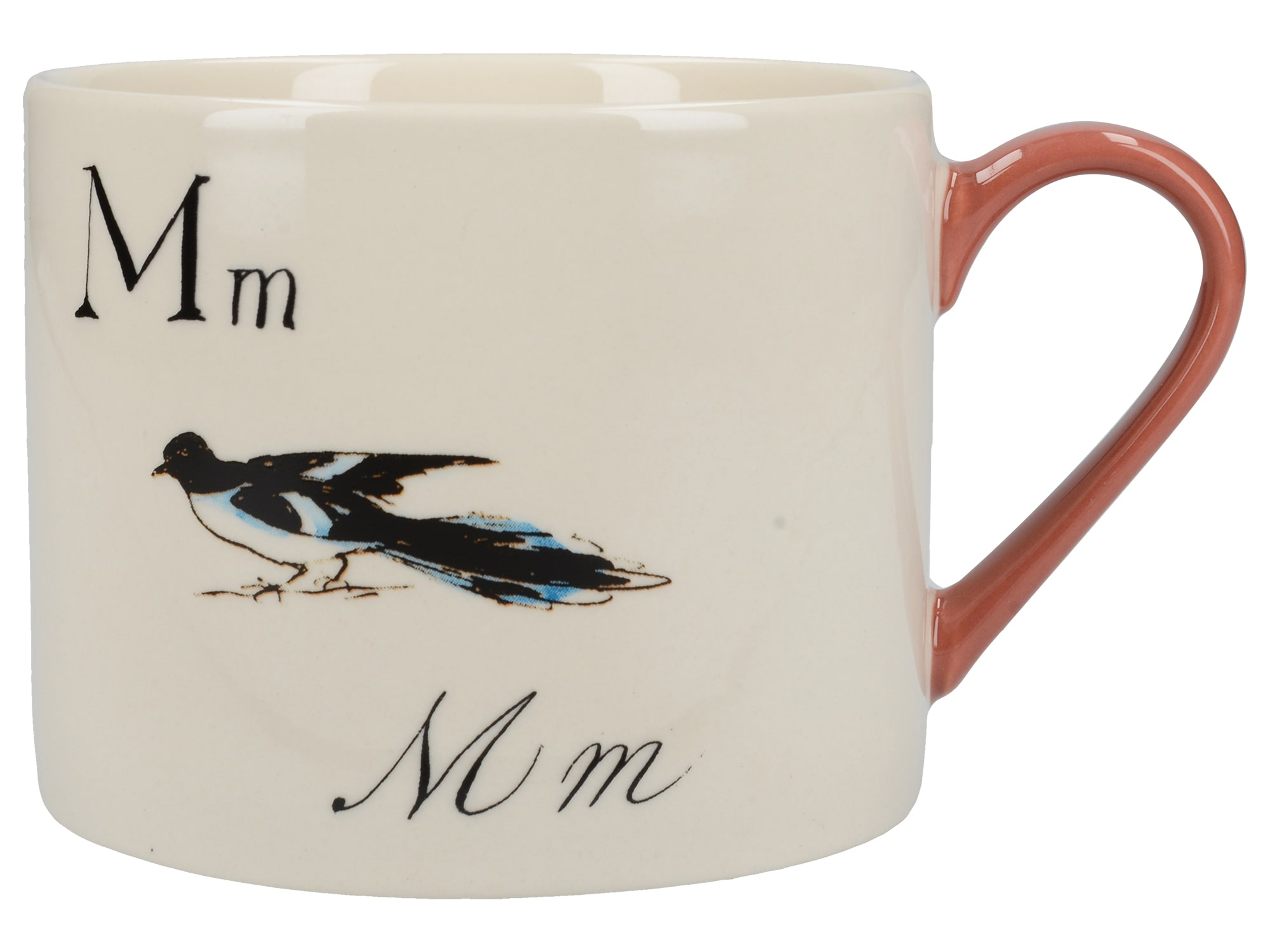 Victoria And Albert Nonsense Alphabet Squat Can Mug M