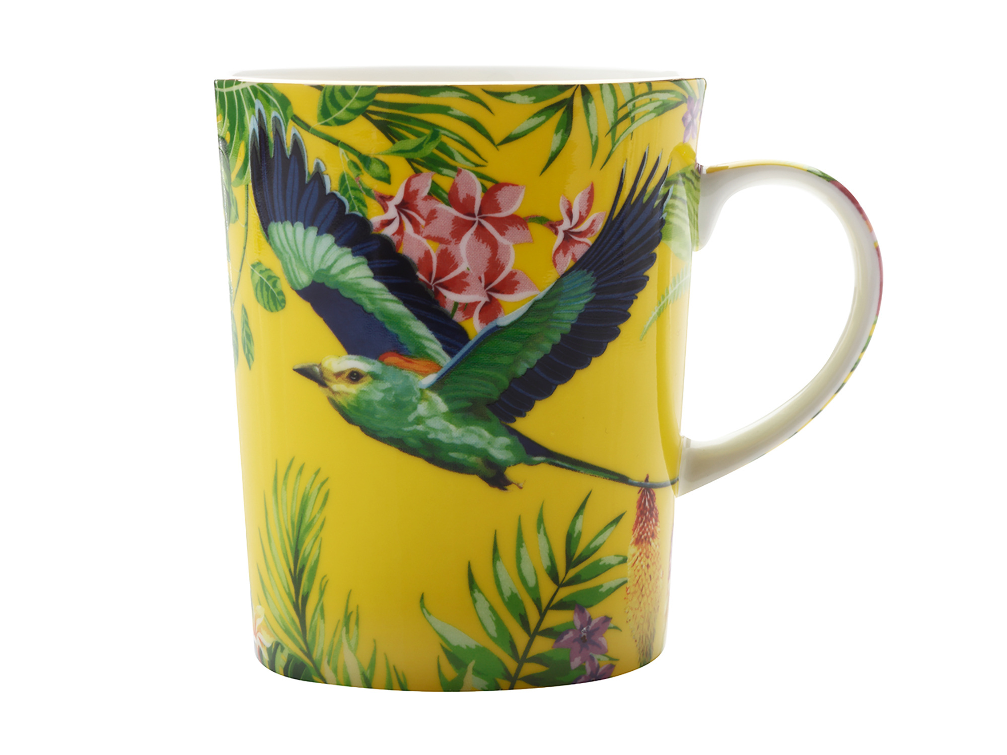 Maxwell & Williams Cashmere Birds Of Paradise Mug Yellow