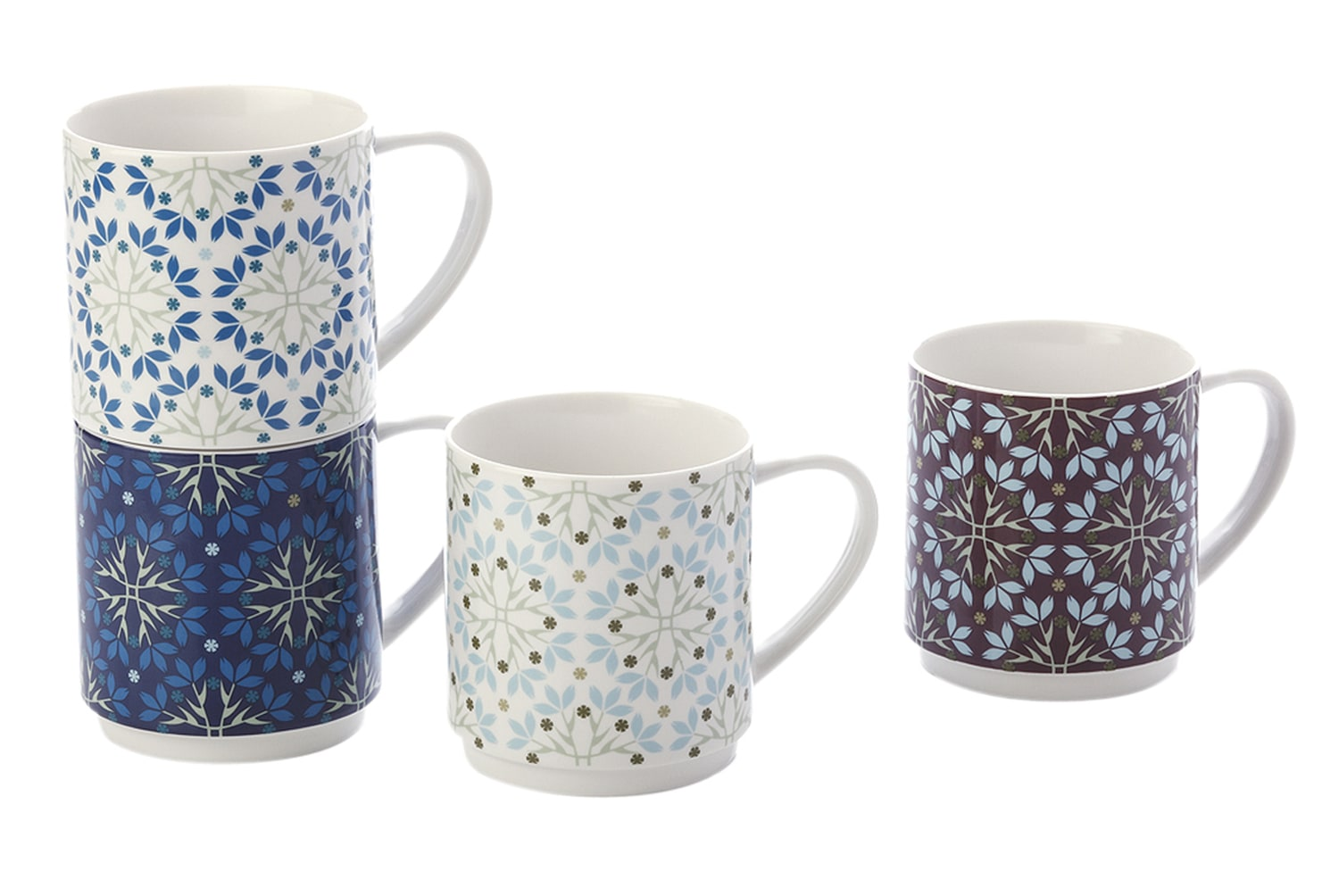 Maxwell & Williams Artic Set Of 4 Mugs Gift Boxed