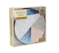 Creative Tops Geometric Palette Pack Of 4 Round Premium Coasters