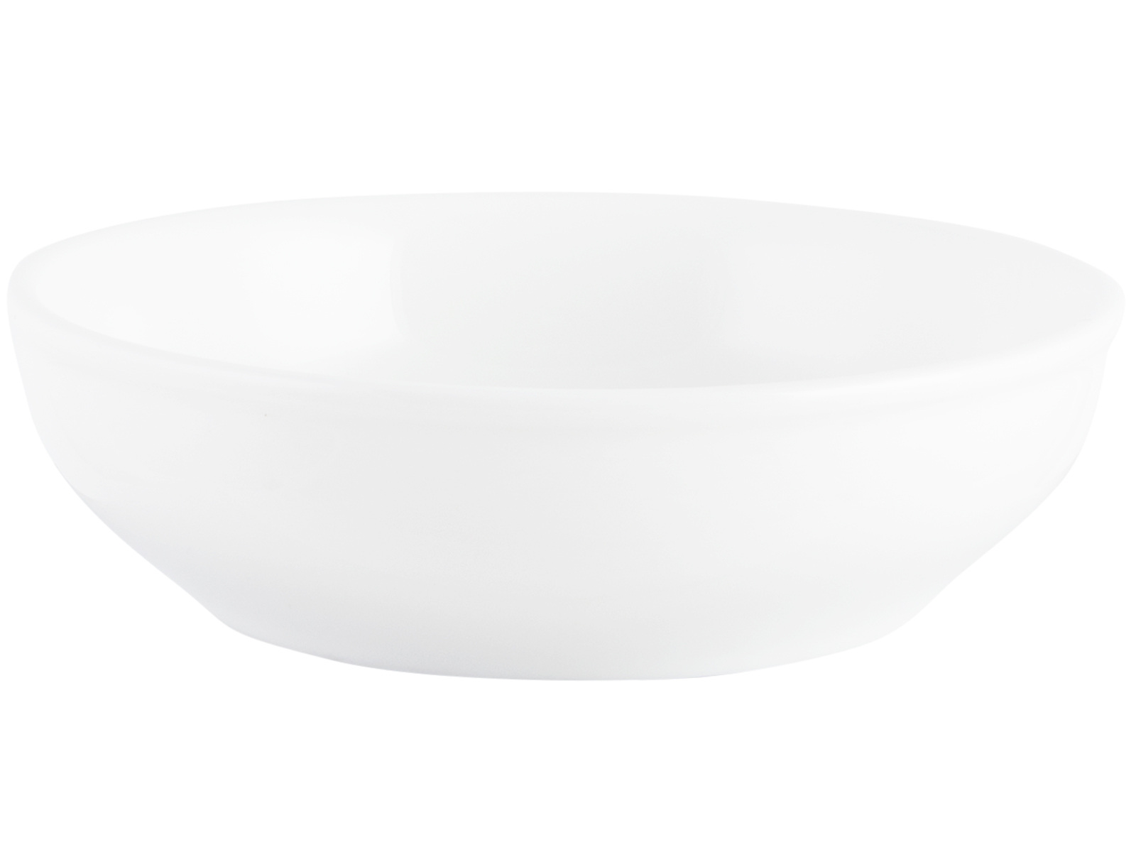 M By Mikasa Whiteware Ridged Butter Dish