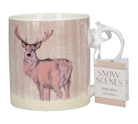 Creative Tops Snow Scenes Stag Can Mug