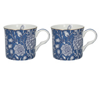 Victoria and Albert Wild Tulip Set Of 2 Palace Mugs