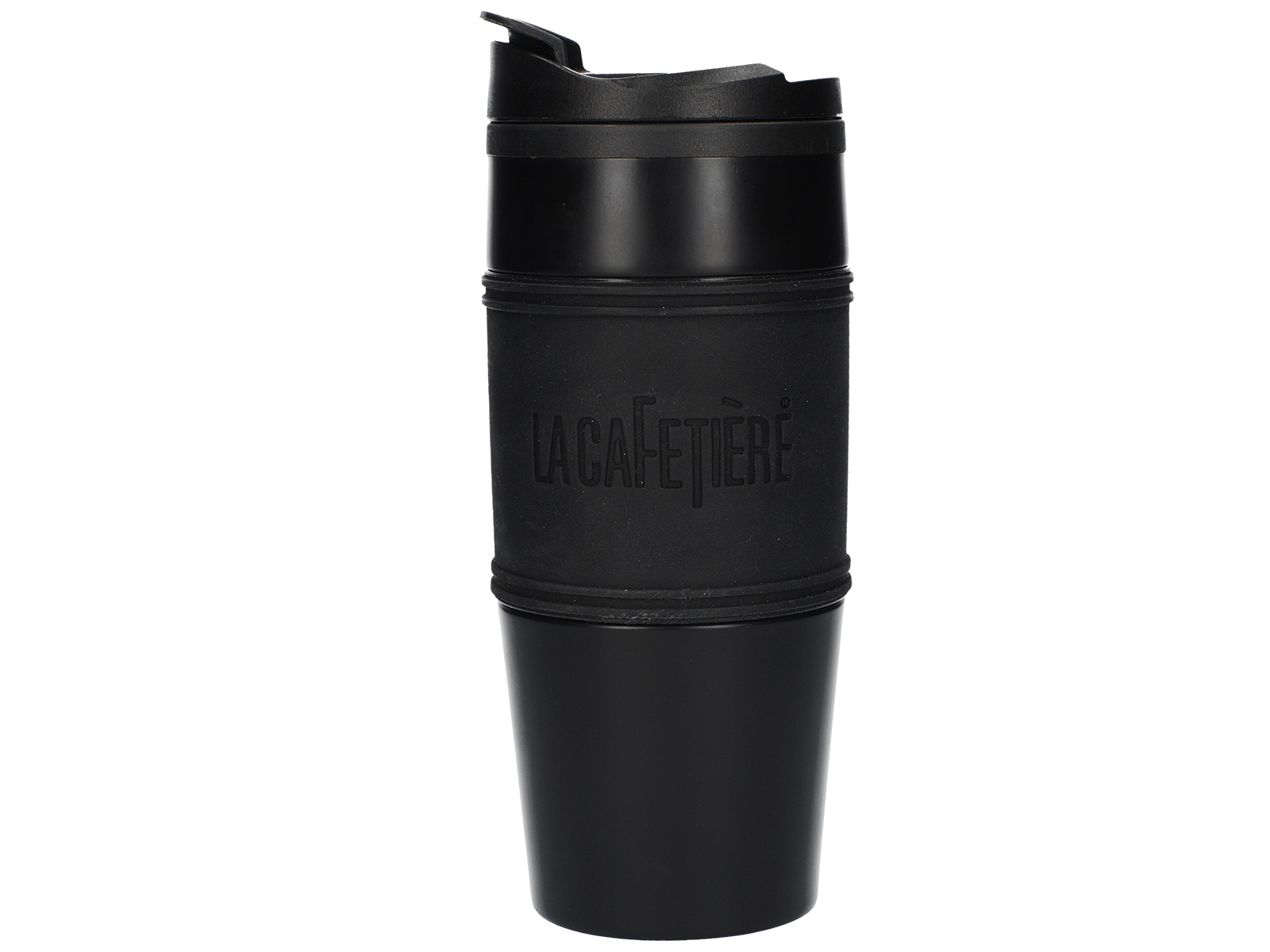 La Cafetiere 450ml Travel Flask Pp Inner Stainless Steel Outer Matt Black