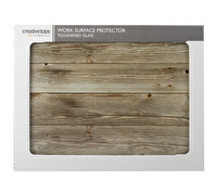 Creative Tops Oak Effect Work Surface Protector
