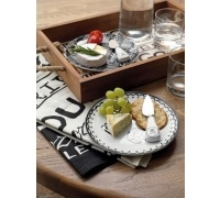 Creative Tops Gourmet Cheese Wood Tray With Rope Handle