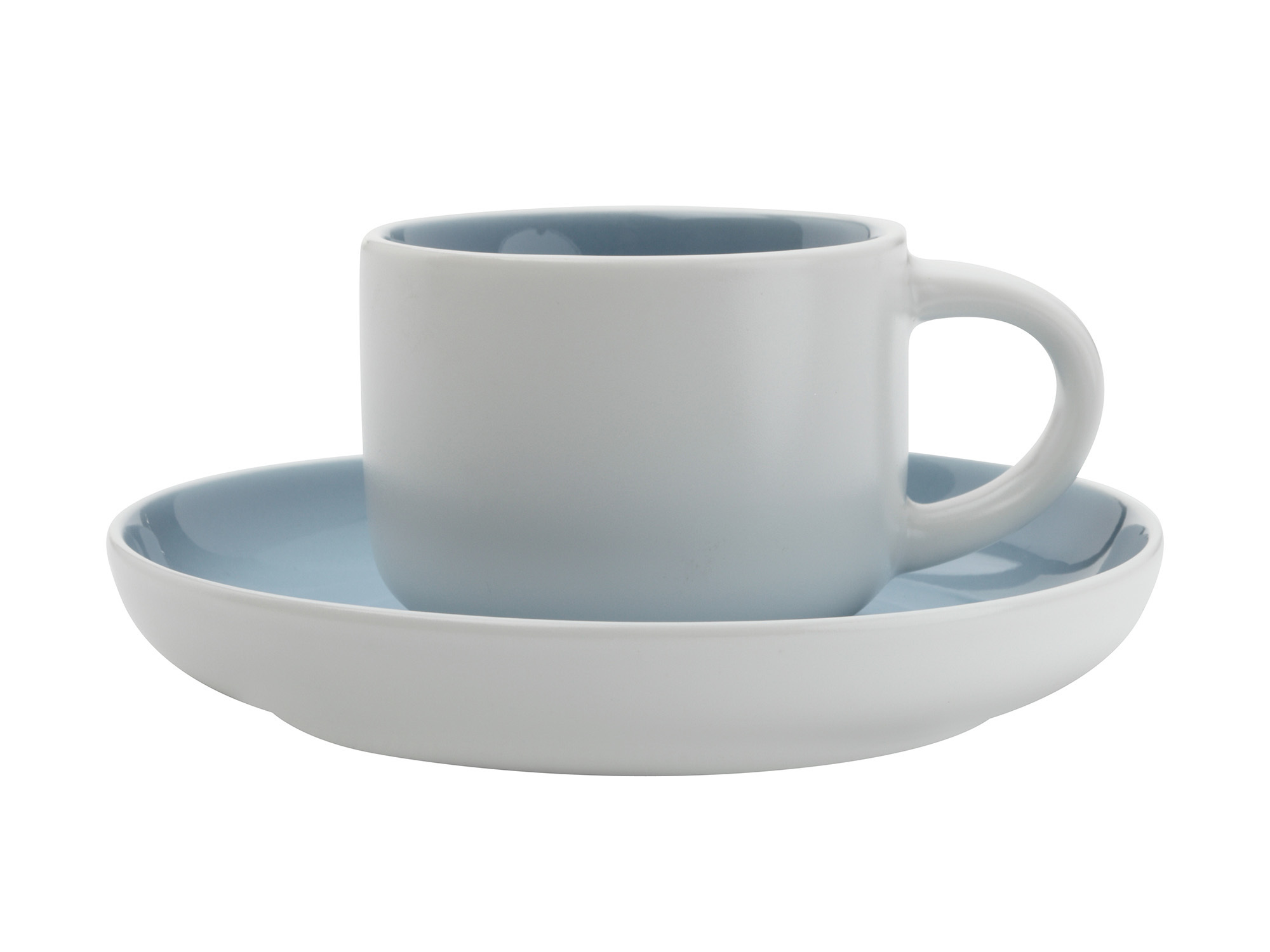 Maxwell & Williams Tint Demi 100Ml Cup And Saucer Cloud