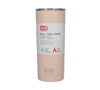 Built 20Oz Double Walled Stainless Steel Water Bottle Pale Pink