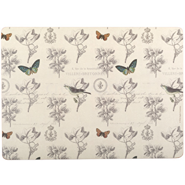 Creative Tops Nature Under Glass Pack Of 4 Large Premium Placemats