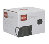 La Cafetiere Barcelona 380ml Milk Jug Black