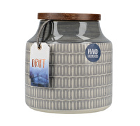 Creative Tops Drift Storage Jar Grey