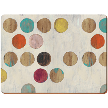 creative tops retro spot pack of 6 premium placemats placemats and