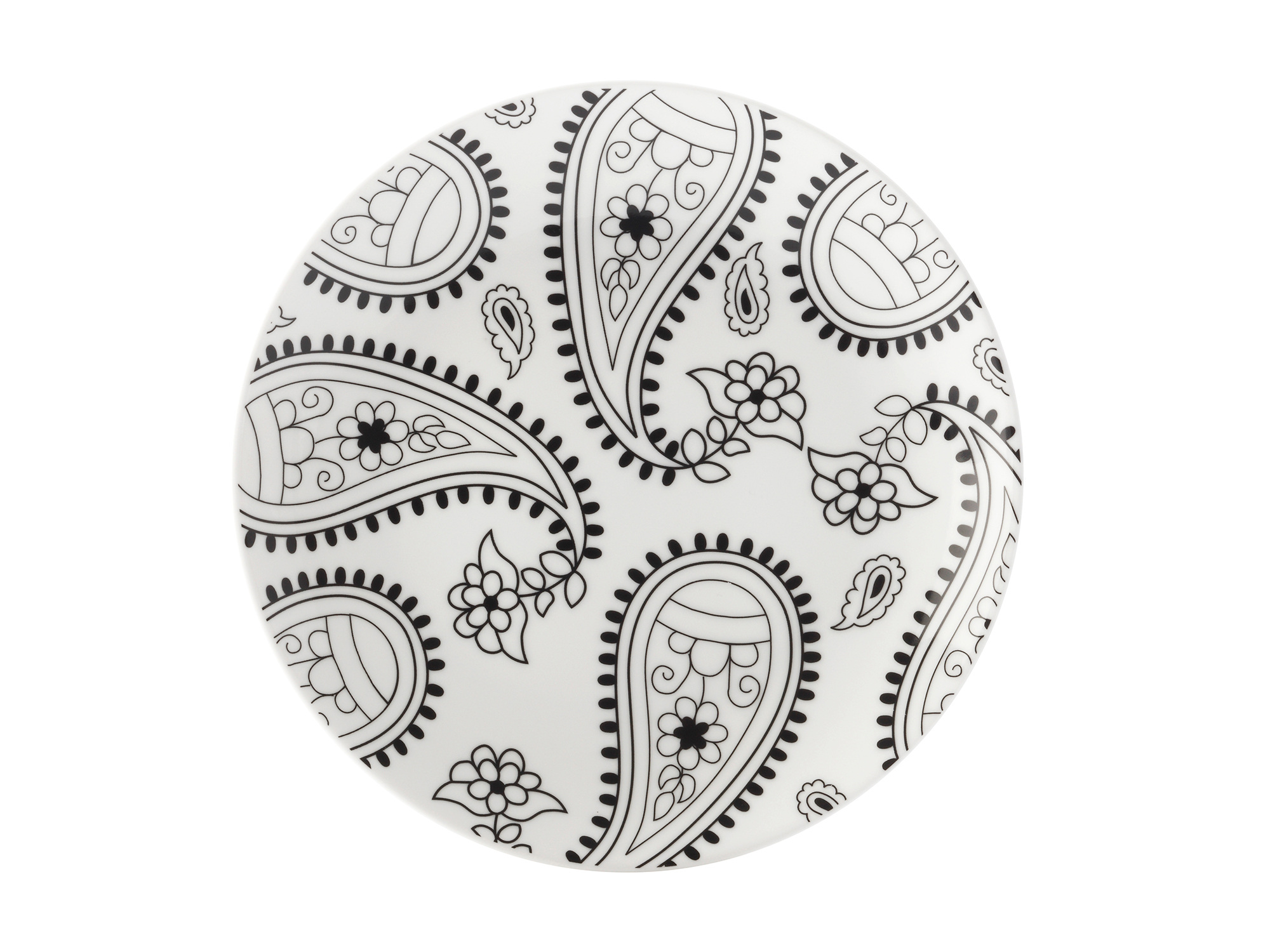Maxwell & Williams Mindfulness Paisley 19Cm Plate Gift Boxed